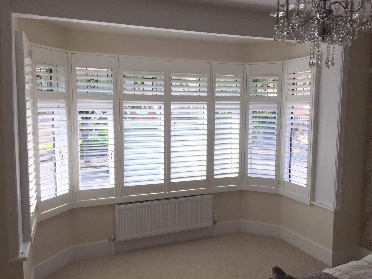 Plantation Shutters In Bay Windows Shutter Perfection